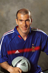 French soccer star ZINEDINE ZIDANE, currently playing for Real Madrid and captain of the French National soccer team. (Credit Image: © Bibard/Panoramic/ZUMAPRESS.com)