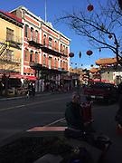 Chinatown, Victoria, Vancouver Island, British Columbia, Canada