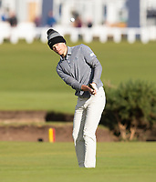 Golf - 2021 Alfred Dunhill Links Championship - Day Four - The Old Course at St Andrew's - Day Four -  Sunday 3rd October 2021<br /> <br /> Nicholai Hojgaard on the 17th<br /> <br /> Credit: COLORSPORT/Bruce White