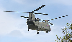 Chinook Helicopter Fly over