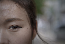 September 7, 2017 - Seoul, South Korea - Ye-eun Yoo, 24 Ã¥r fled North Korea in 2014Durihana International School, (DIS) is christian school for North Korean defectors, Seoul, South Korea, 2017-09-07..(c) IVARSSON JERKER  / Aftonbladet / IBL BildbyrÃ¥....* * * EXPRESSEN OUT * * *....AFTONBLADET / 2826 (Credit Image: © Ivarsson Jerker/Aftonbladet/IBL via ZUMA Wire)