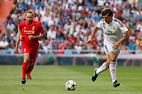 Real Madrid´s Morientes during 2015 Corazon Classic Match between Real Madrid Leyendas and Liverpool Legends at Santiago Bernabeu stadium in Madrid, Spain. June 14, 2015. (ALTERPHOTOS/Victor Blanco)