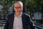 Michael Gove MP,  Chancellor of the Duchy of Lancaster arrives at the Cabinet office in Whitehall, London, United Kingdom on 22nd August 2019.