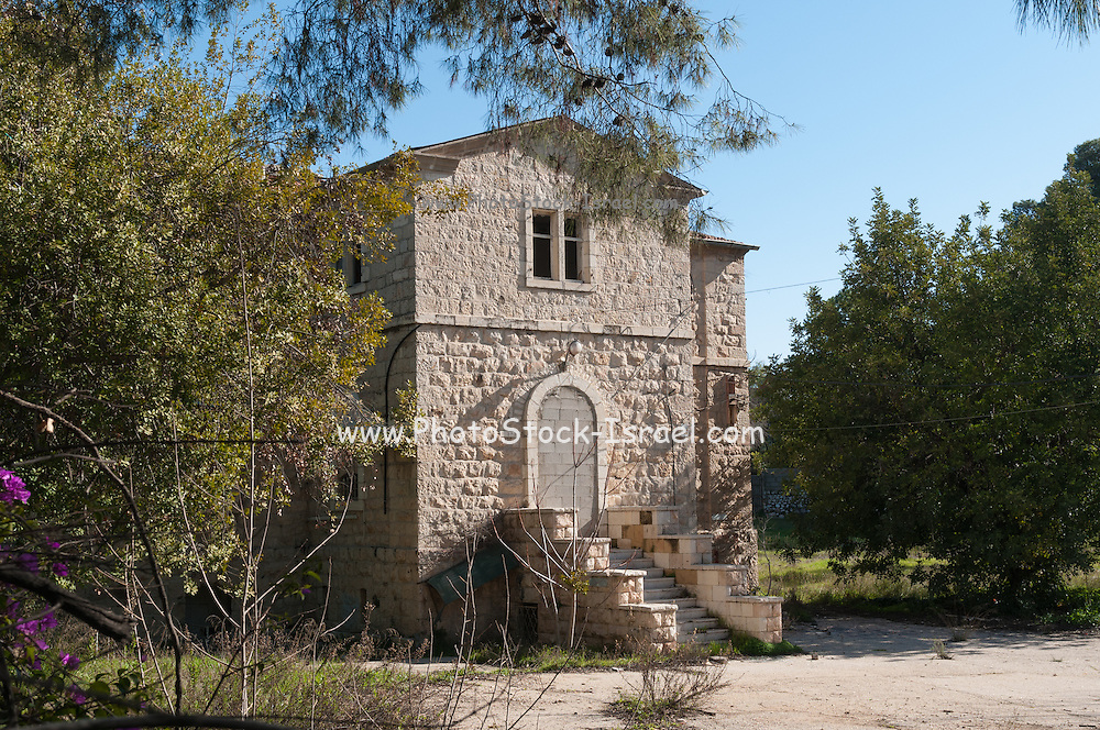 The German Colony in Jerusalem, Israel Founded by the German Templer movement who settled here and elsewhere in Israel in the late 19th century. The schoolhouse