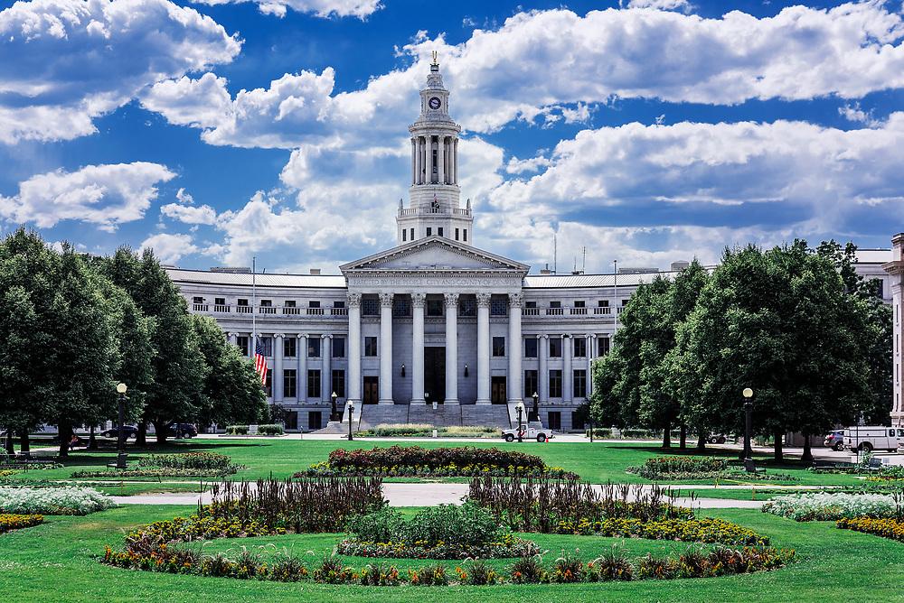 Denver City Hall and County Building, Denver, Colorado, USA.