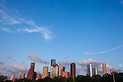 Downtown Houston, Texas.