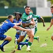 Treviso, Italy, 25/09/2021 Stadio di Monigo<br /> United Rugby Championship Benetton Vs Stormers<br /> Marco Zanon