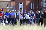 Alex Fitzpatrick (GB&I) on the 17th tee during Day 2 Foursomes of the Walker Cup, Royal Liverpool Golf CLub, Hoylake, Cheshire, England. 08/09/2019.<br /> Picture Thos Caffrey / Golffile.ie<br /> <br /> All photo usage must carry mandatory copyright credit (© Golffile   Thos Caffrey)