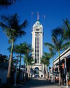 Aloha Tower, Honolulu, Oahu, Hawaii, USA<br />