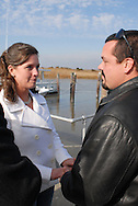 12/7/09 - 11:25:30 AM - FORTESCUE, NJ: Diana & Ken - December 7, 2009 - Fortescue, New Jersey. (Photo by William Thomas Cain/cainimages.com)