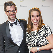 NLD/Amsterdam20151106 - Nationaal Opera Gala 2015, Erik Dijkstra en partner Hester van Dijk