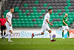 during football match between NK Olimpija and NK Rudar Velenje in 2nd Round of Slovenian Cup 2019/20, on August 15, 2019 in Arena Stozive, Ljubljana, Slovenia. Photo by Grega Valancic / Sportida