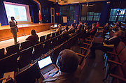 Bond community meeting at Wilson Montessori School, February 25, 2016.