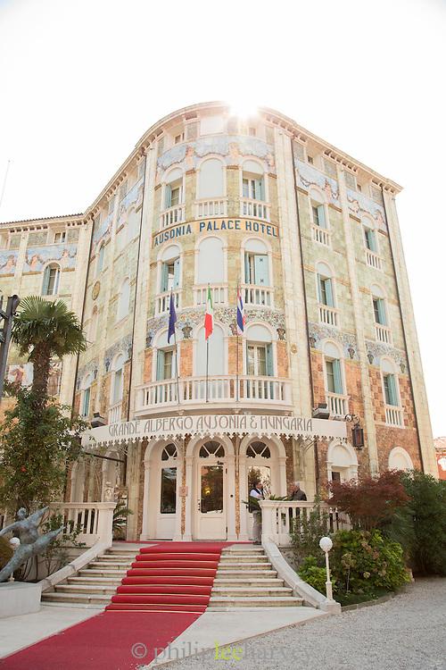 Grande Albergo Ausonia & Hungaria Hotel. The Lido, Venice, Italy, Europe