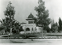 1912 Home of Creighton Brown at Franklin Ave & Orange Dr. Now the home for American Cinematographers Society