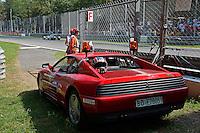 MOTORSPORT - F1 2013 - GRAND PRIX OF ITALIA - MONZA (ITA) - 05 TO 08/09/2013 - PHOTO ERIC VARGIOLU / DPPI - COMMISSAIRES - MARSHALL