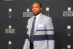 February 2, 2019 - Atlanta, GA, U.S. - ATLANTA, GA - FEBRUARY 02:  Derrick Henry  poses for photos on the red carpet at the NFL Honors on February 2, 2019 at the Fox Theatre in Atlanta, GA. (Photo by Rich Graessle/Icon Sportswire) (Credit Image: © Rich Graessle/Icon SMI via ZUMA Press)