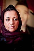 Maria Bashir, Afghanistan's first female Chief Provincial Prosecutor, poses for a portrait in her office in Herat. Bashir has fought hard for women's rights during her time in office.