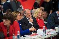 DEU, Deutschland, Germany, Berlin, 06.12.2019: Bundesfinanzminister Olaf Scholz (SPD) beim Bundesparteitag der SPD im CityCube. Scholz stellte sich der Wahl zum SPD-Parteivorsitzenden, unterlag jedoch.