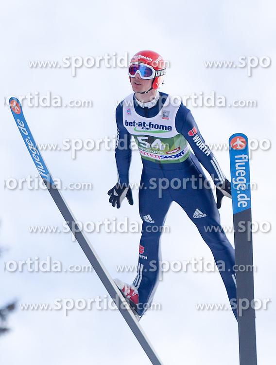 03.01.2014, Bergisel Schanze, Innsbruck, AUT, FIS Ski Sprung Weltcup, 62. Vierschanzentournee, Qualifikation, im Bild Andreas Wank (GER) // Andreas Wank (GER) during qualification Jump of 62nd Four Hills Tournament of FIS Ski Jumping World Cup at the Bergisel Schanze, <br /> Innsbruck, Austria on 2014/01/03. EXPA Pictures © 2014, PhotoCredit: EXPA/ JFK