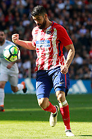 Atletico de Madrid's Diego Costa during La Liga match. April 8,2018. (ALTERPHOTOS/Acero)