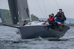 Day 2 Scottish Series, SAILING, Scotland.<br /> <br /> Stealthy, Stealth 8, 2591C, Tarbert Loch Fyne YC<br /> <br /> The Scottish Series, hosted by the Clyde Cruising Club is an annual series of races for sailing yachts held each spring. Normally held in Loch Fyne the event moved to three Clyde locations due to current restrictions. <br /> <br /> Light winds did not deter the racing taking place at East Patch, Inverkip and off Largs over the bank holiday weekend 28-30 May. <br /> <br /> Image Credit : Marc Turner / CCC