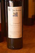 A bottle of R de Lucca Tannat Reserva Casa de Lucca Vino de El Colorado 2003 Bodega De Lucca Winery, El Colorado, Progreso, Uruguay, South America