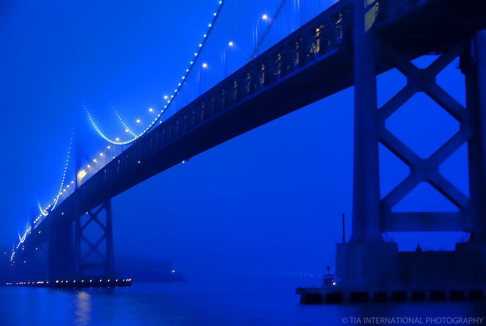 San Francisco-Oakland Bay Bridge (Morning)