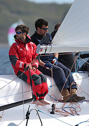 The Clyde Cruising Club's Scottish Series held on Loch Fyne by Tarbert. Day 2 racing in a perfect southerly<br /> GBR 3111, DDZ B/one,  Luke Patience, RNCYC