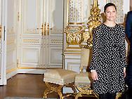15-10-2015 LUXEMBOURG - Princess Margriet of the Netherlands is Thursday in Luxembourg for a meeting of the International Paralympic Committee (IPC). The Swedish Crown Princess Victoria, Prince Albert of Monaco and Grand Duchess Maria Teresa of Luxembourg attend the meeting at the Grand Ducal Palace at. During the meeting looks ahead at the upcoming Paralympic Games next year in Rio de Janeiro. The special meetings of the erebestuur be every two years gehouden. COPYRIGHT ROBIN UTRECHT<br /> 15-10-2015 LUXEMBURG - Prinses Margriet is donderdag in Luxemburg voor een vergadering van het erebestuur van het Internationaal Paralympisch Comité (IPC). Ook de Zweedse kroonprinses Victoria, prins Albert van Monaco en groothertogin Maria Teresa van Luxemburg wonen de bijeenkomst op het Groothertogelijk Paleis bij. Tijdens de vergadering wordt vooruitgeblikt op de aankomende Paralympische Spelen volgend jaar in Rio de Janeiro. De bijzondere bijeenkomsten van het erebestuur worden om de twee jaar gehouden.COPYRIGHT ROBIN UTRECHT