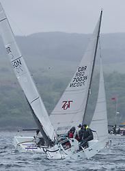 Clyde Cruising Club's Scottish Series 2019<br /> 24th-27th May, Tarbert, Loch Fyne, Scotland<br /> <br /> Day 3 - GBR7060N, Seaword, Dara O'Malley, PEYC<br /> <br /> Credit: Marc Turner / CCC