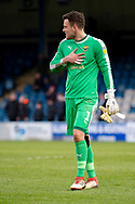 Oxford United goalkeeper Simon Eastwood (1) during the EFL Sky Bet League 1 match between Gillingham and Oxford United at the MEMS Priestfield Stadium, Gillingham, England on 9 March 2019.