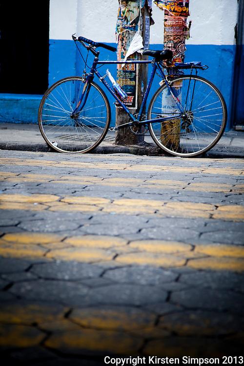 Bikes in Puebla