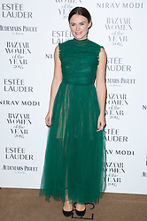 Keira Knightley attending the Harper's Bazaar Woman of the Year awards at Claridges in London. Picture date: Monday October 31, 2016. Photo credit should read: Isabel Infantes / EMPICS Entertainment.