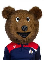 Brizzly Bear of Bristol Rugby - Rogan Thomson/JMP - 22/08/2016 - RUGBY UNION - Clifton Rugby Club - Bristol, England - Bristol Rugby Media Day 2016/17.