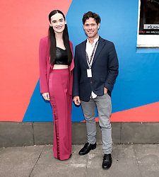 Edinburgh International Film Festival 2019<br /> <br /> Schemers (world premiere)<br /> <br /> Pictured: Kerry Browne and Alex Reece<br /> <br /> Alex Todd | Edinburgh Elite media