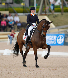 Laarakkers Christa (NED) - Ovation<br /> Exquis World Dressage Masters - Wellington 2010<br /> © Hippo Foto - Cealy Tetly