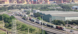South Africa - Durban -  20 May 2020 -   Frustrations over traffic logjams by trucks have reached boiling point with residents calling for heavy load vehicles to be taken off residential streets. Picture Leon Lestrade/African News Agency(ANA).