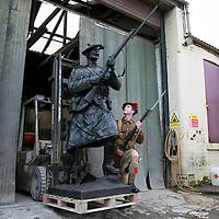 Black Watch Statue