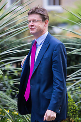 Downing Street, London, April 12th 2016. Communities Secretary Greg Clark arrives at the weekly cabinet meeting. ©Paul Davey<br /> FOR LICENCING CONTACT: Paul Davey +44 (0) 7966 016 296 paul@pauldaveycreative.co.uk