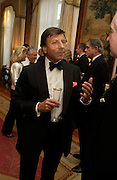 Sir Rocco Forte. An Evening in honour of Salvatore Ferragamo hosted by the Ambassador of Italy. The Italian Embassy, 4 Grosvenor Square. London W1. 8 June 2005. ONE TIME USE ONLY - DO NOT ARCHIVE  © Copyright Photograph by Dafydd Jones 66 Stockwell Park Rd. London SW9 0DA Tel 020 7733 0108 www.dafjones.com