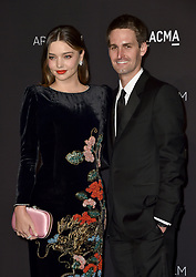 Miranda Kerr and Evan Spiegel attend the 2018 LACMA Art + Film Gala at LACMA on November 3, 2018 in Los Angeles, CA, USA. Photo by Lionel Hahn/ABACAPRESS.COM