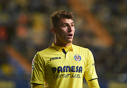 November 30, 2017 - Vila-Real, Castellon, Spain - Daniel Raba Fernandez of Villarreal CF looks on during the Copa del Rey, Round of 32, Second Leg match between Villarreal CF and SD Ponferradina at Estadio de la Ceramica on november 30, 2017 in Vila-real, Spain. (Credit Image: © Maria Jose Segovia/NurPhoto via ZUMA Press)