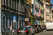 Ulica Józefa na krakowskim Kazimierzu.<br /> Jozefa Street, Jewish Kazimierz, Cracow.