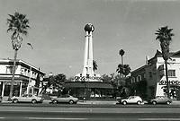 1976 Crossroads of the World on Sunset Blvd.