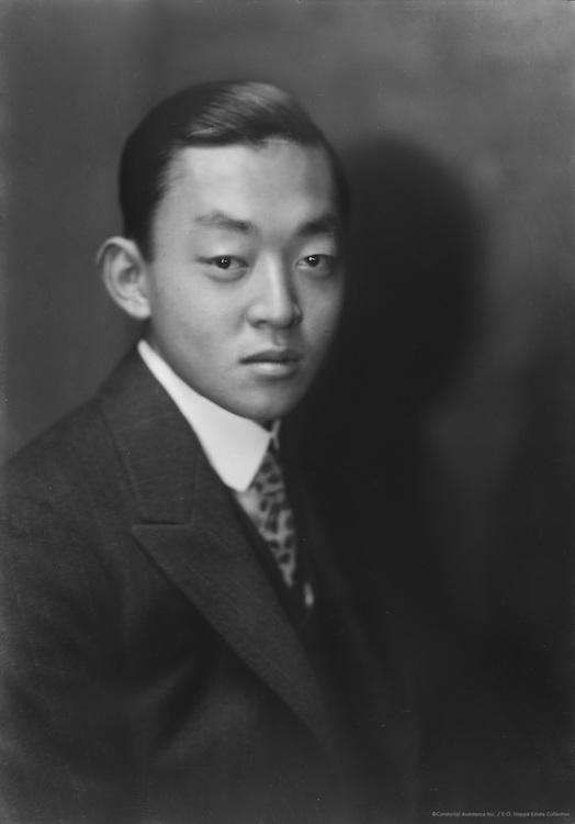 Marquis Kuni, formerly His Imperial Highness Kunihisa Kuni of Japan, 1924
