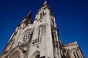 Fortaleza, CE - 22 de novembro 2010..Imagens diversas do centro de Fortaleza, capital do Ceara...Na foto, detalhe da Catedral Metropolitana de Fortaleza...Foto: Bruno Magalhaes / Nitro