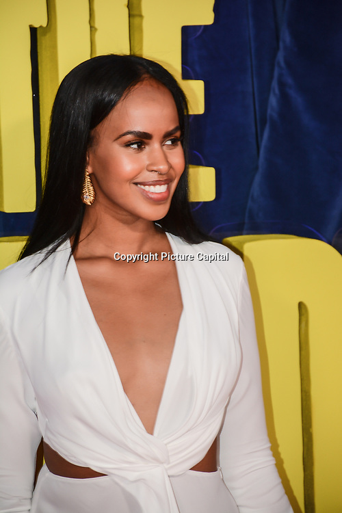 """Sabrina Elba attended """"The Harder They Fall"""" Opening Night Gala - 65th BFI London Film Festival, Southbank Centre, London, UK. 6 October 2021."""