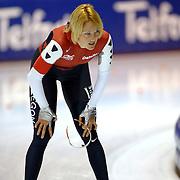 NLD/Heerenveen/20060122 - WK Sprint 2006, 2de 1000 meter dames, Marianne Timmer