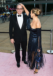 Sarah Jessica Parker and husband Matthew Broderick arrive at the New York City Ballet's 2017 Fall Fashion Gala at David H. Koch Theater at Lincoln Center in New York City. 28 Sep 2017 Pictured: Sarah Jessica Parker and Matthew Broderick. Photo credit: MEGA TheMegaAgency.com +1 888 505 6342
